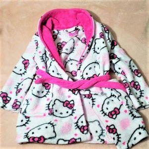Hello Kitty Toddler Bathrobe 2T